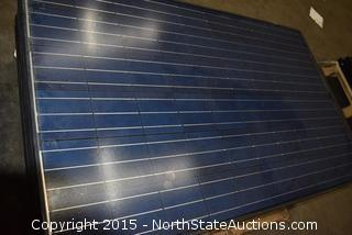Lot of Towards Excellence Solar Panels