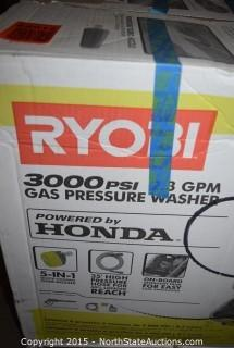 RYOBI 3000PSI 2.3 GEM Gas Pressure Washer