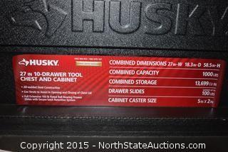 HUSKY  Tool Chest