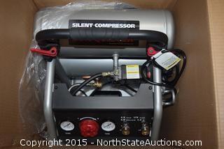 HUSKY 4.5 Gal Silent Air Compressor