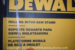 DeWalt Rolling Miter Saw Stand