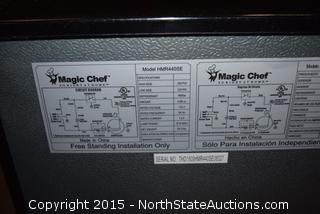 Magic Chef 4.4 Cu ft  Compact Refrigerator