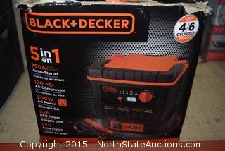 Black+Becker 5 in 1 Jump Starter