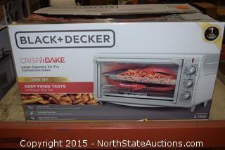 Black+Decker Large Capacity Air Fryer Convection Oven