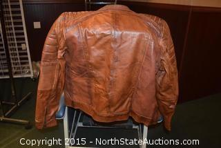 Real Leather Woman's Jacket