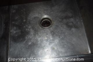 Commercial Sink w/ Garbage Disposal
