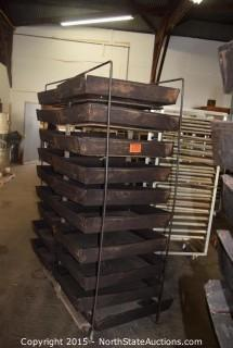 Rack with Baking Pans
