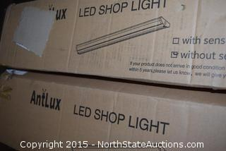 Lot of 2 Antlux LED Shop Lights