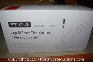 Fit King Leg and Foot Circulation Therapy System