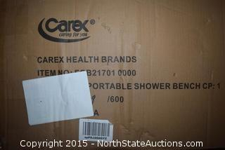 Carex Shower Bench