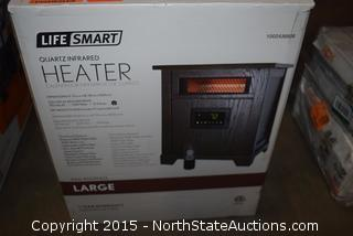 Life Smart Quartz Infrared Heater