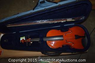 Eastar EVA full size 4/4 Beginner Violin Set