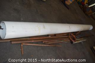 Lot of Copper Pipes