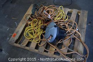 Mixed Lot of Extention Cords