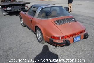 1974 Porche 911 Targa 2.7