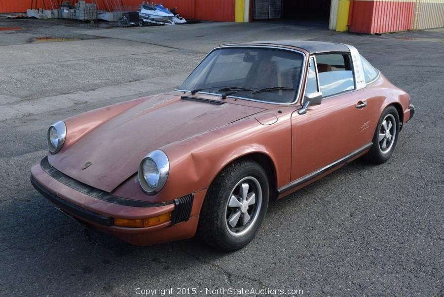 1974 Porche 911 Targa and 1994 Jeep Bankruptcy Auction