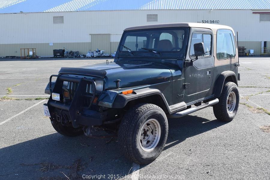 1974 Porche 911 Targa and 1994 Jeep Bankruptcy Auction