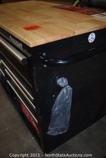 Husky 46in 9-Drawer Mobile Workbench