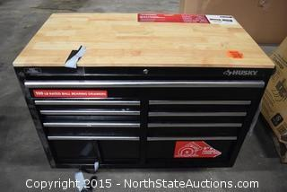 Husky 46in 9-Drawer Mobile Workbench