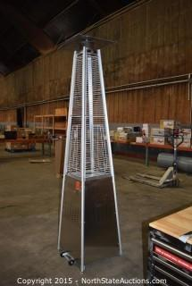Stainless Steel Pyramid Heater