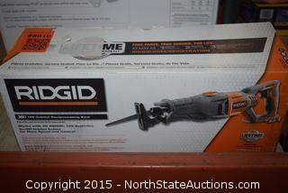 Ridgid 18V Orbital Reciprocating Saw