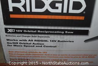 Ridgid 18V Orbital Reciprocating Saw