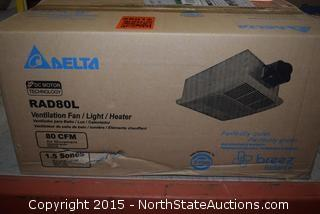 Delta Ventilation Fan/Light/Heater