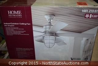 Home Decorations Indoor/Outdoor Ceiling Fan