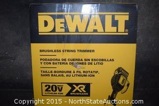 DeWalt Brushless String Trimmer