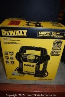 DeWalt Jumpstarter and Digital Air Compressor