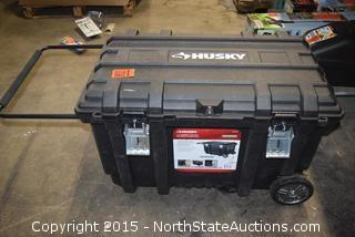 Husky 50 Gallon Mobile Job Box