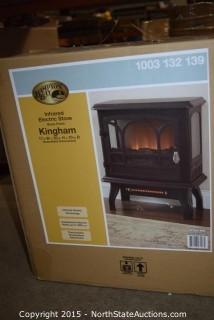 Hampton Bay Kingham Infrared Electric Stove