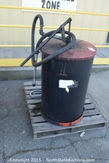 Oil Drum with Pump
