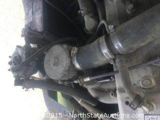 Clark Forklift CGP30, 5500 Lb Capacity, LP Fuel