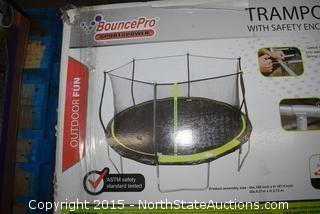 Bounce Pro 14ft Trampoline with Safety Net