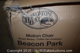 Hampton Bay Beacon Park Motion Chair