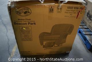 Hampton Bay Beacon Park Motion Chair