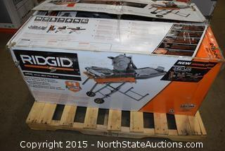 Ridgid 10in Wet Tile Saw