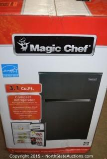 Magic Chef 3.1 Cu ft Compact Refrigerator