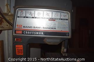 Sears Craftsman 12in Band Saw-Sander