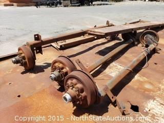 Hydraulic Lift Roll Back Chassis