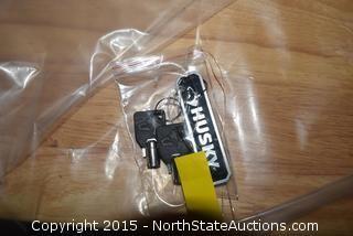 Husky HD 61in. 10-Drawer 1 Door 26in. D Mobile  Workbench