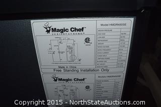 Magic Chef Two Door Refrigerator