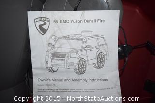 6V GMCYukon Denali Fire