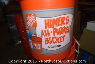 Lot of Homer Buckets