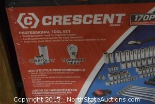 Crescent Brand 170PC Professional Tool Set