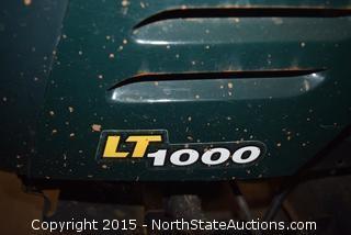 Craftsman LT1000 Riding Lawnmower