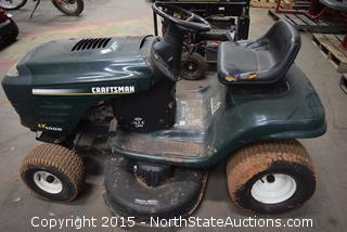 Craftsman LT1000 Riding Lawnmower