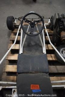 Go-Cart and Briggs and Stratton Engine