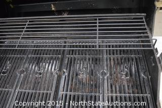 Char-Broil RED Gas Barbecue with Side Burner/Griddle and Rotissserie